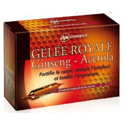 Bio Conseils Gelee Royale Ginseng - Acerola suplement na siły witalne