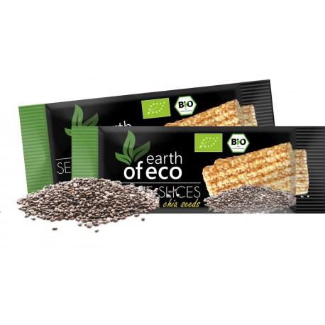 Sezamki z nasionami chia 18 g earth of eco